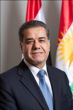 Minister Falah Mustafa Bakir