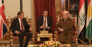 (English) President Barzani Welcomes UK Foreign Secretary Philip Hammond
