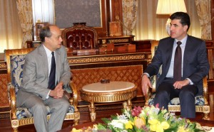 Prime Minister Barzani and Spain's ambassador discuss fight against ISIS