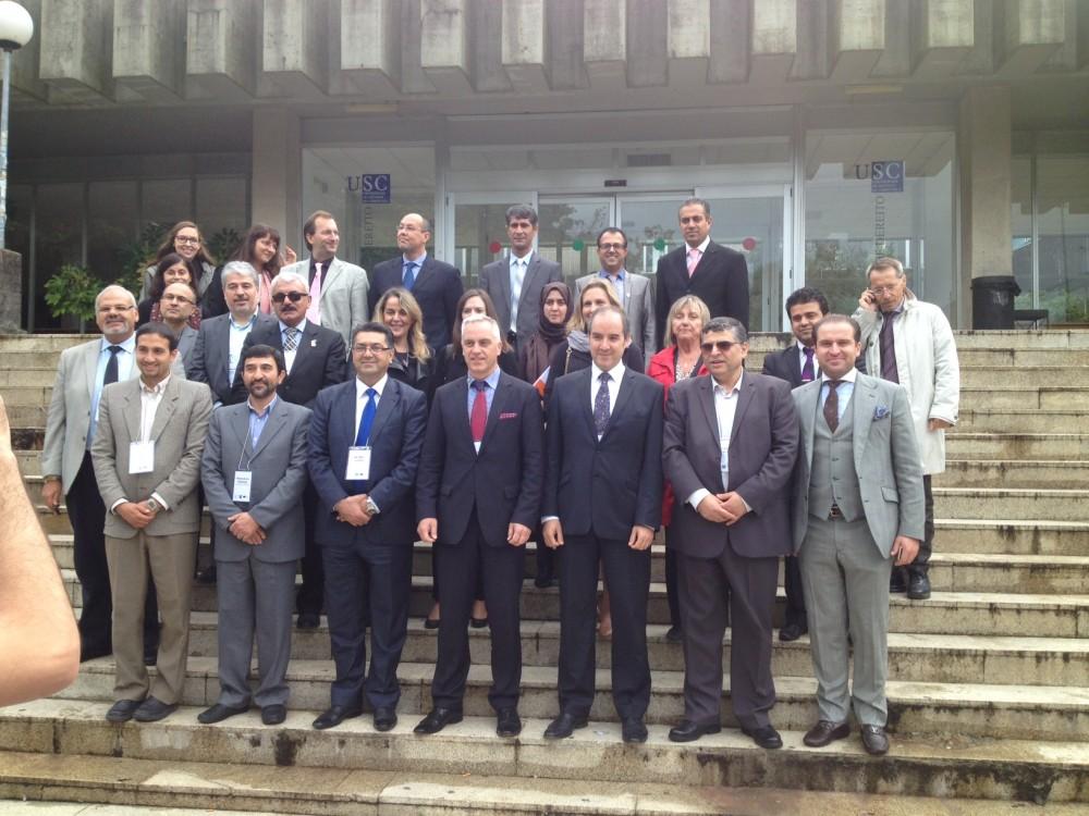La inauguración del proyecto Marhaba en la universidad de Santiago de Compostela