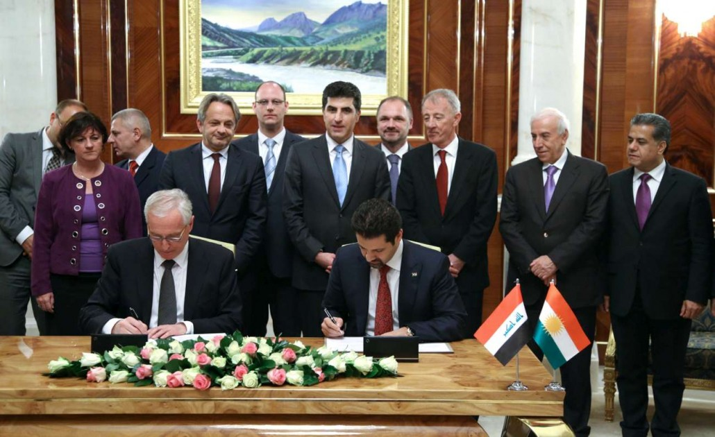 Spain Signs Mou And Signs Mou With Krg