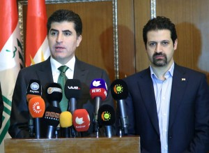 "PM Barzani: ""We have set a strategy. It's time to open a new page and move past the language of threats."""