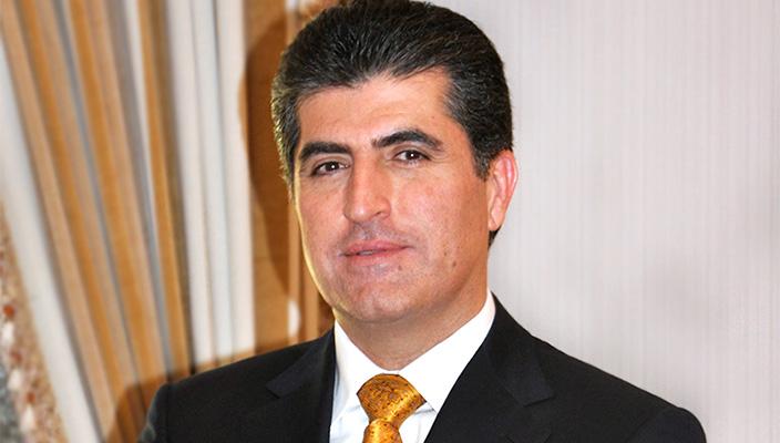El Primier Ministro del GRK Nechirvan Barzani felicita con la liberación de Kobane