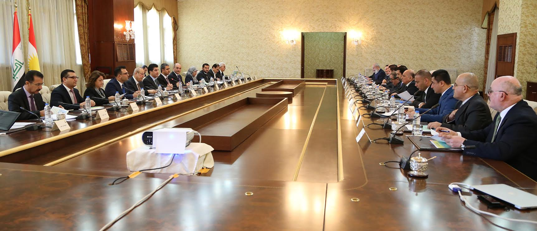 Kurdistan Regional Government and Kurdish representatives in Iraqi Parliament and Government discuss relations with Baghdad