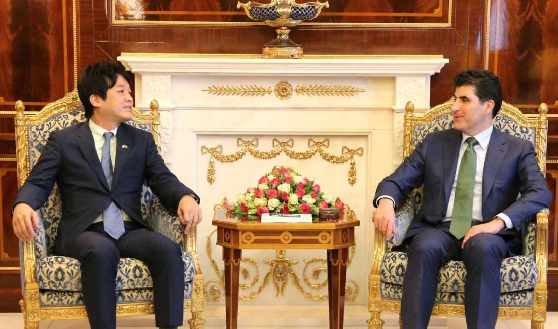 PM Barzani calls on Japan to assist the Kurdistan Region