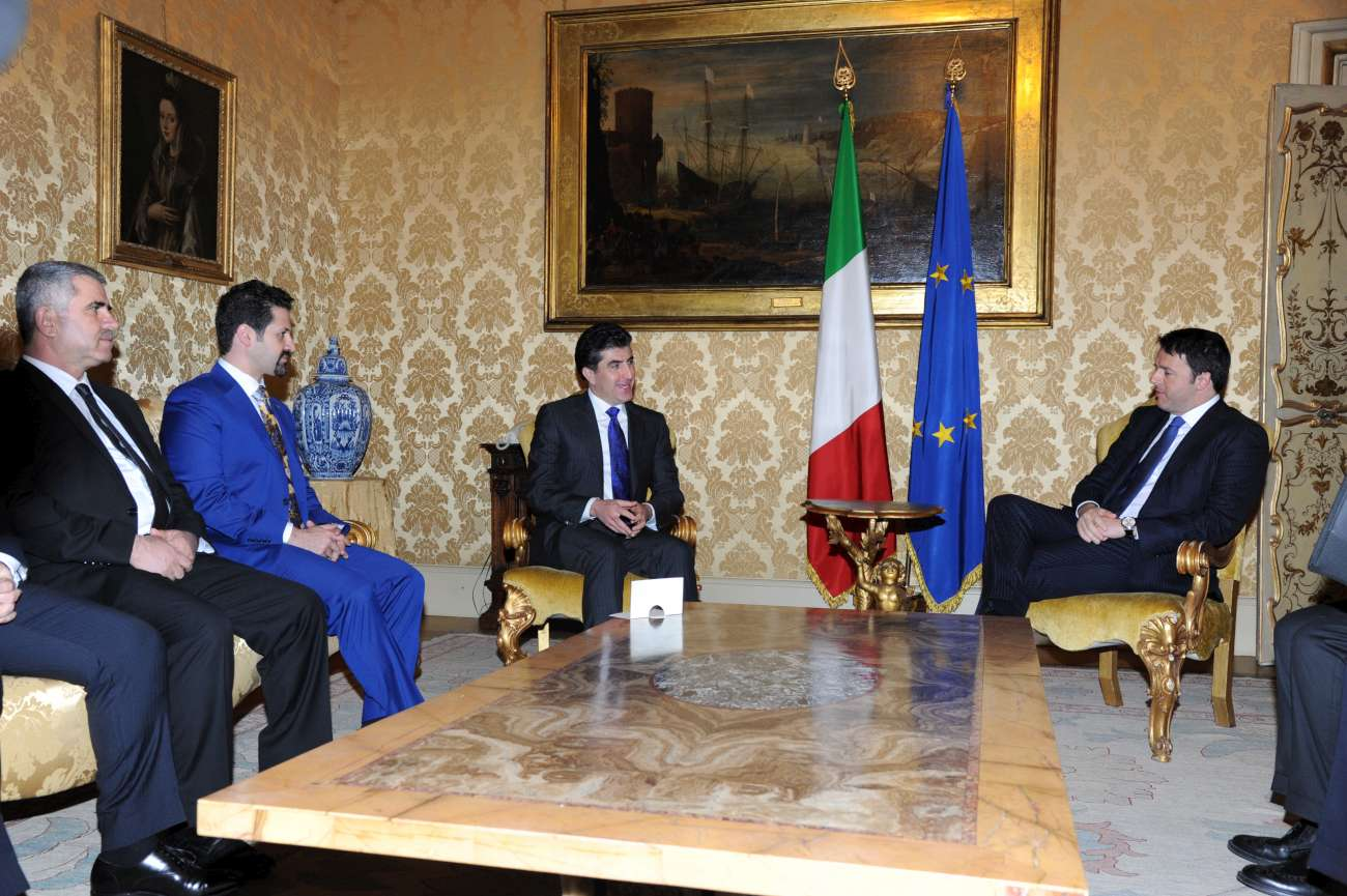 Italy will continue its humanitarian and military support to the Kurdistan Region