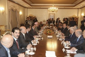 President Barzani and Prime Minister al-Abadi Meet in Erbil