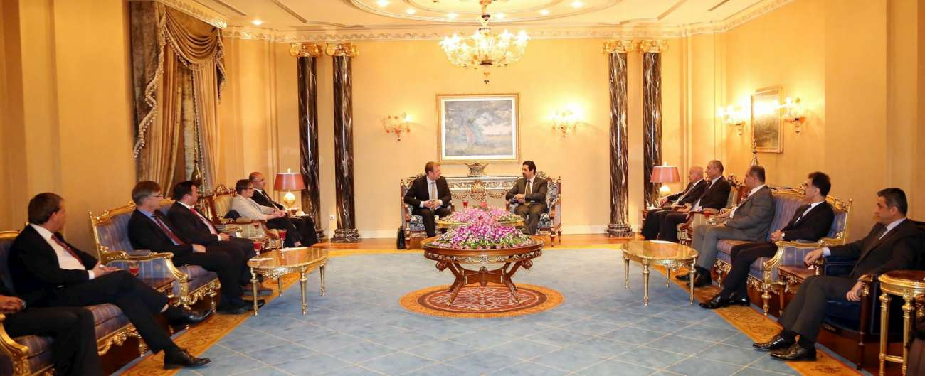 KRG Deputy Prime Minister receives a German Parliament delegation