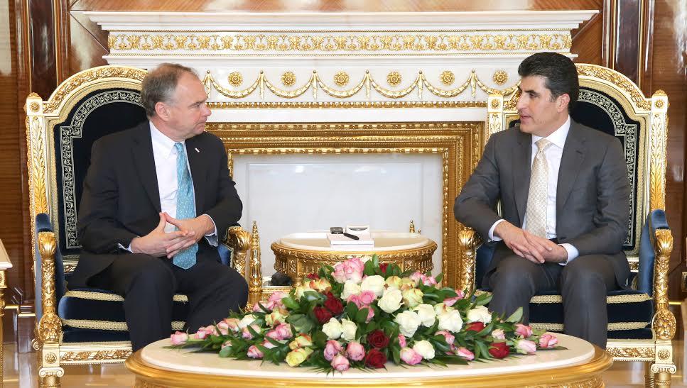 Delegación del Senado de EEUU: Bagdad tiene que pagar el presupuesto correspondiente a la región del Kurdistán