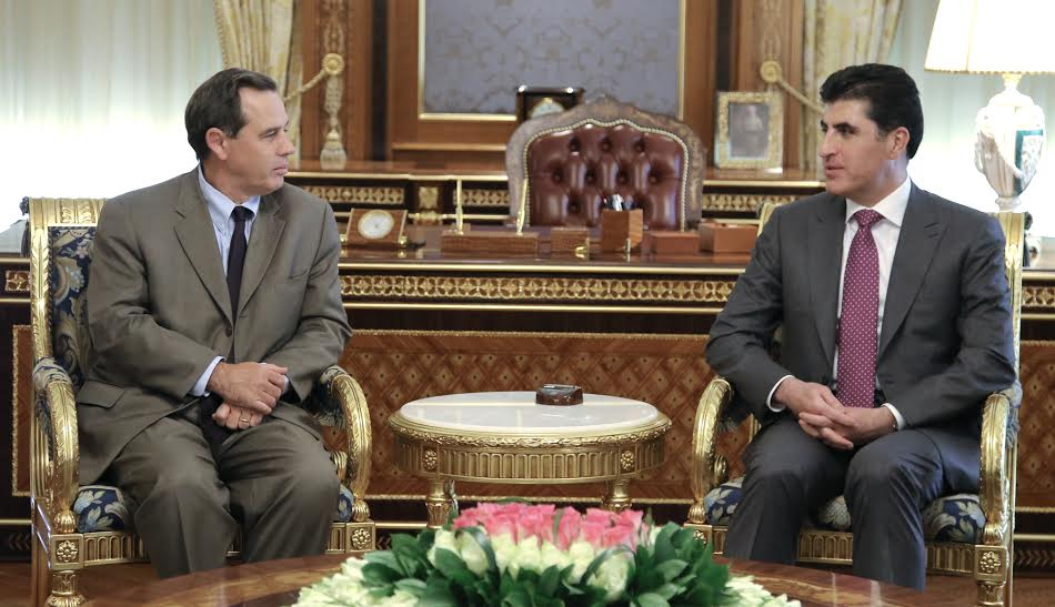 El primer ministro Barzani valora positivamente el apoyo de los EEUU a la región del Kurdistán