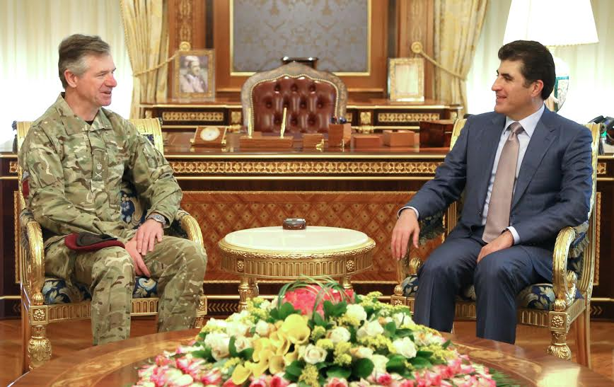 UK Military Senior Advisor commends Peshmerga Forces