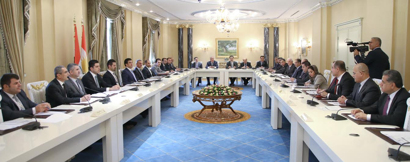 KRG Council of Ministers to set up foreign loans committee
