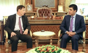 The United Kingdom supports settlement of differences between Erbil and Baghdad