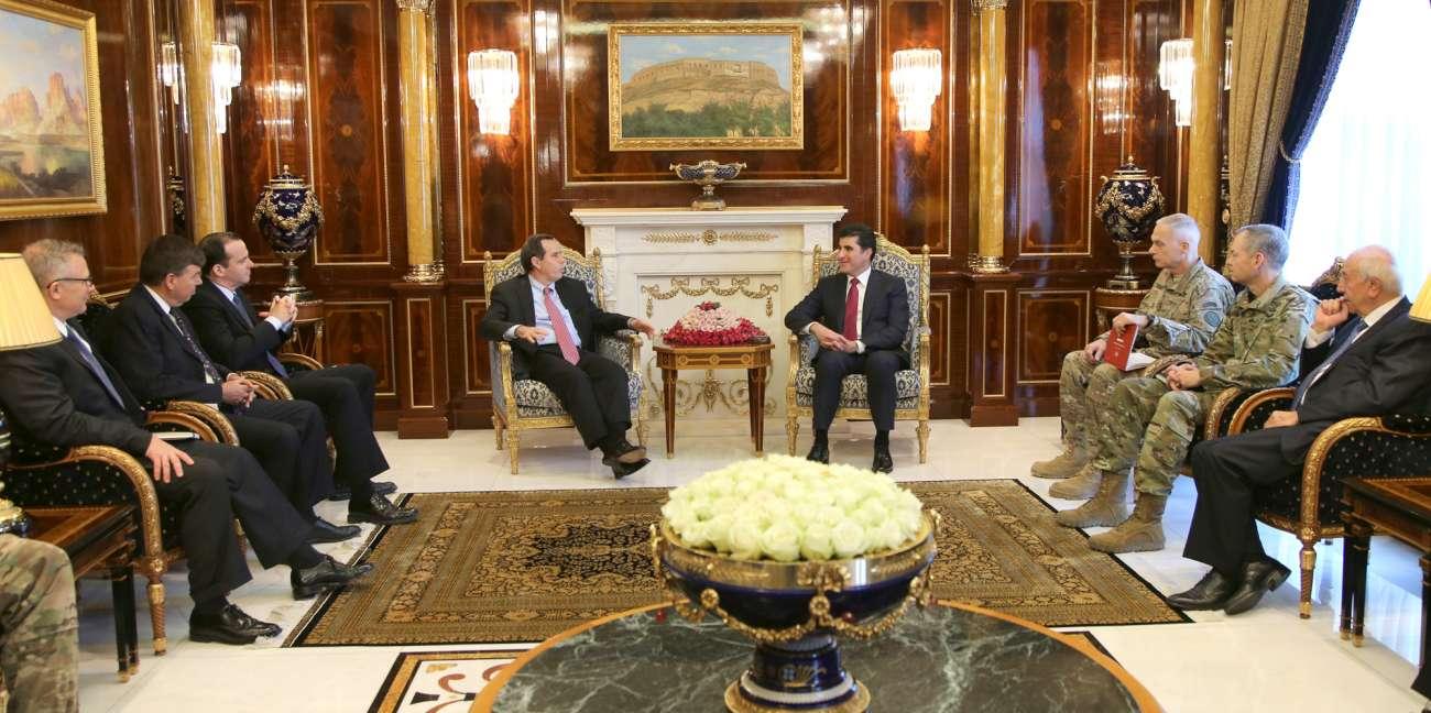 Los EE.UU. continuarasu apoyo a las fuerzas armadas Peshmerga
