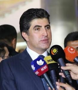 El primer ministro Barzani informa sobre la situación actual en la región del Kurdistán