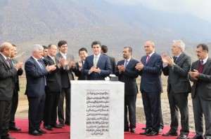 Prime Minister Barzani inaugurates Deralok hydropower project
