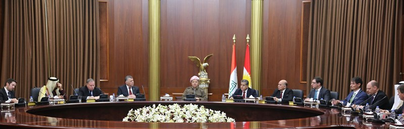 President Barzani hosts annual diplomatic corps meeting