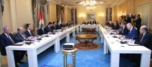 Kurdistan Region Council of Ministers discusses financial crisis