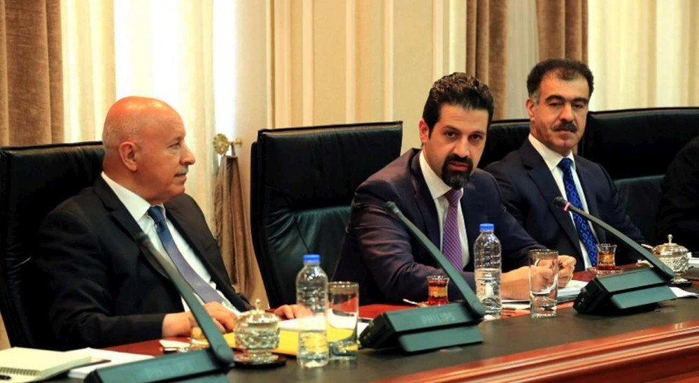 Deputy Prime Minister Talabani briefs the media on KRG delegation visit to Washington
