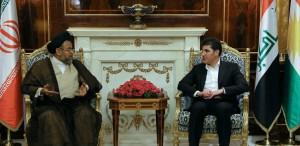 Kurdistan Region and Iran stress developing bilateral relations