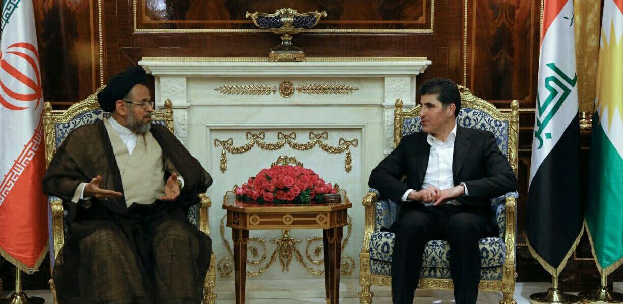 Kurdistan Region and Iran stress developing bilateral relations