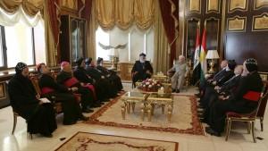 President Barzani Receives a Syriac Orthodox Delegation