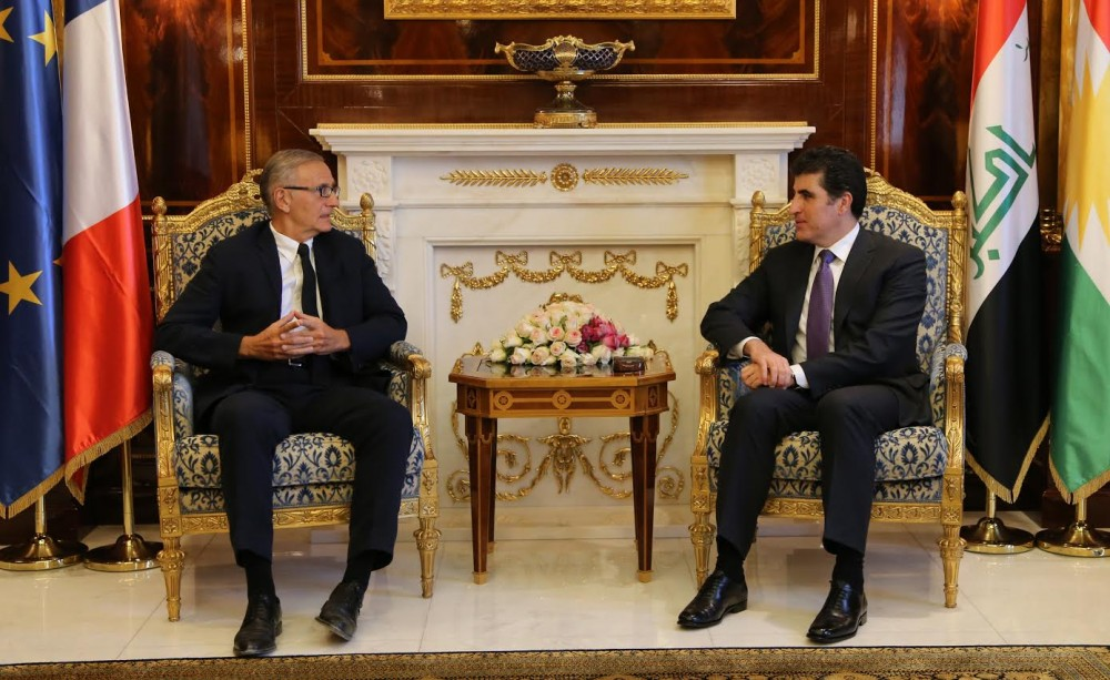 (English) Prime Minister Barzani and French Minister of State for Development discuss financial crisis