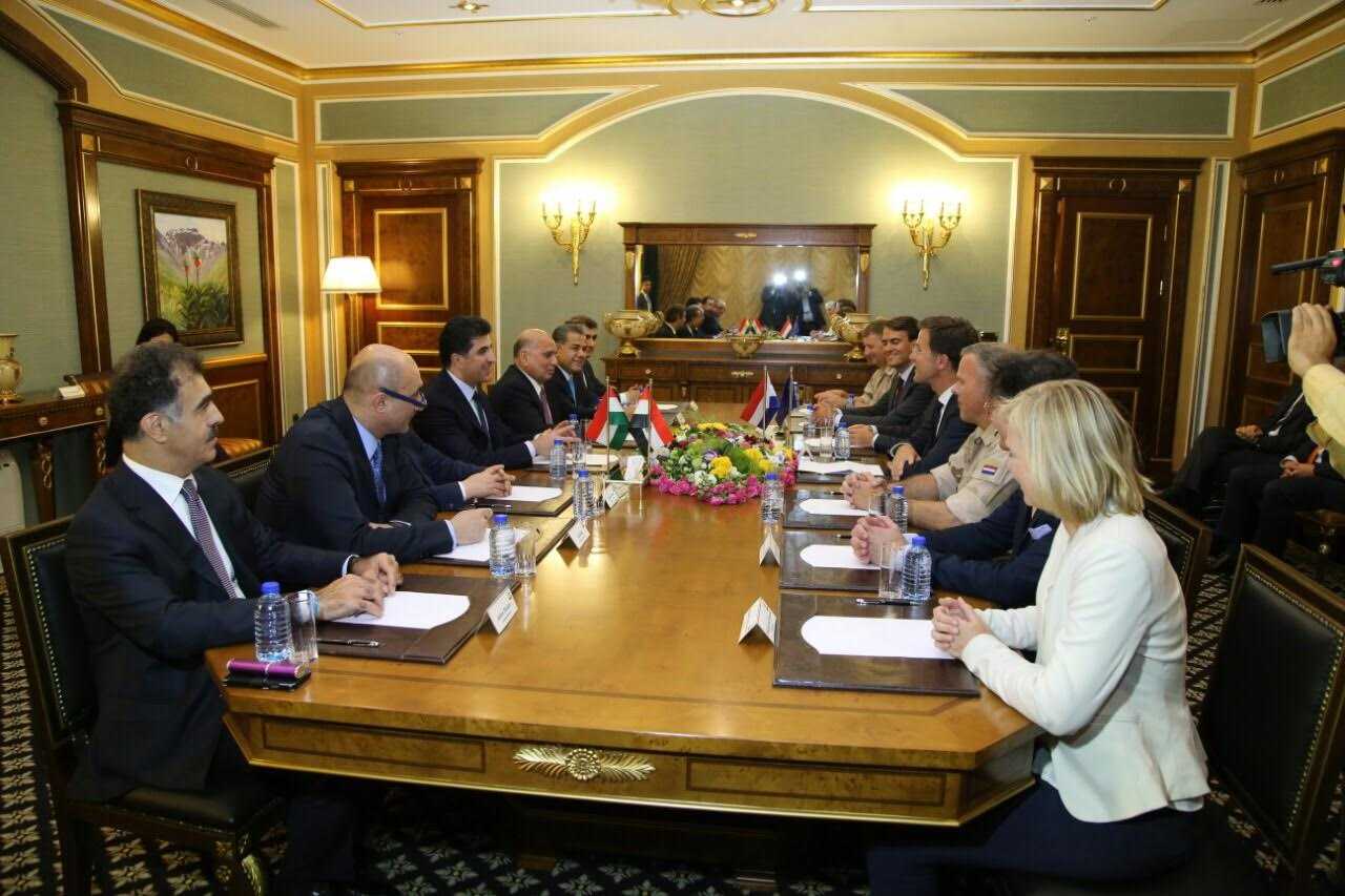 KRG and the Netherlands Prime Ministers discuss situation in Kurdistan Region