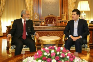 (English) Prime Minister Barzani receives Kuwait Ambassador to Iraq