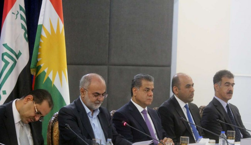 (English) KRG Board of Environment and Mine Agency brief diplomats on their needs