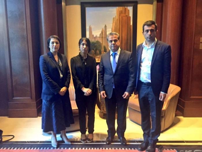 Minister Mustafa invites Nadia Murad to meet KRG leadership