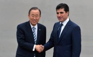 Prime Minister Barzani sends letter to Mr. Ban Ki Moon about Ms. Murad