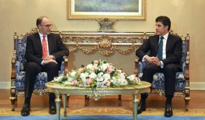 Prime Minister Barzani meets with the new U.S. Ambassador to Iraq
