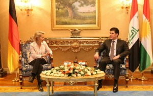 Prime Minister Barzani and German Defence Minister discuss liberation of Mosul