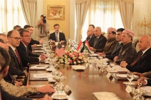 Kurdistan Region President Barzani receives US Secretary of Defense