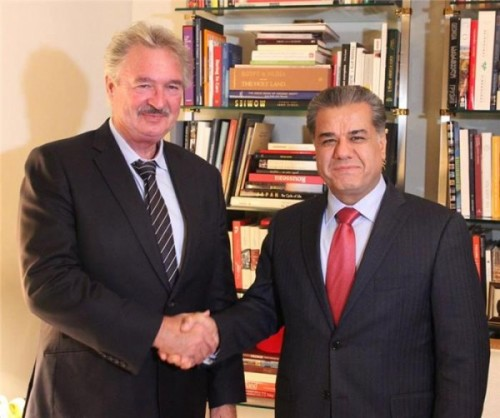 Luxemburg praises role of Peshmerga in fight to liberate Mosul