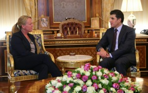 Prime Minister Barzani receives The Netherlands new Consul General to Erbil