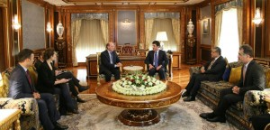 Prime Minister Barzani and French Parliamentary delegation discuss war on ISIS