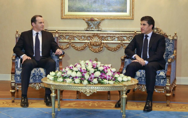 Barzani and McGurk discuss post-ISIS Mosul and other regional issues