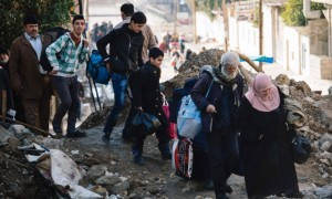 (English) Three thousand people displaced daily since the start of the second phase of Mosul operation