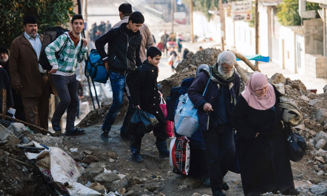 Three thousand people displaced daily since the start of the second phase of Mosul operation