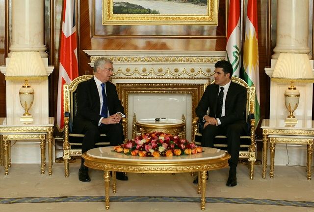 The United Kingdom reaffirms its support to the Kurdistan Region