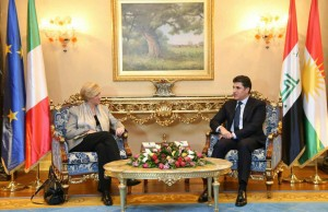 Prime Minister Barzani thanks Italy for supporting the Kurdistan Region