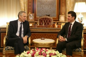 Prime Minister Barzani and EU Special Envoy discuss religious coexistence