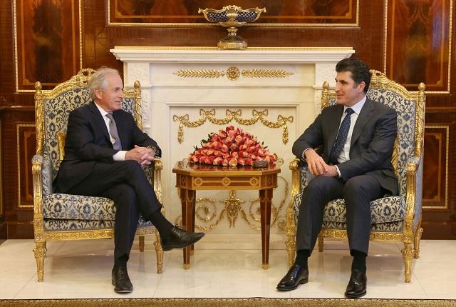 Prime Minister Barzani meets US Senate delegation