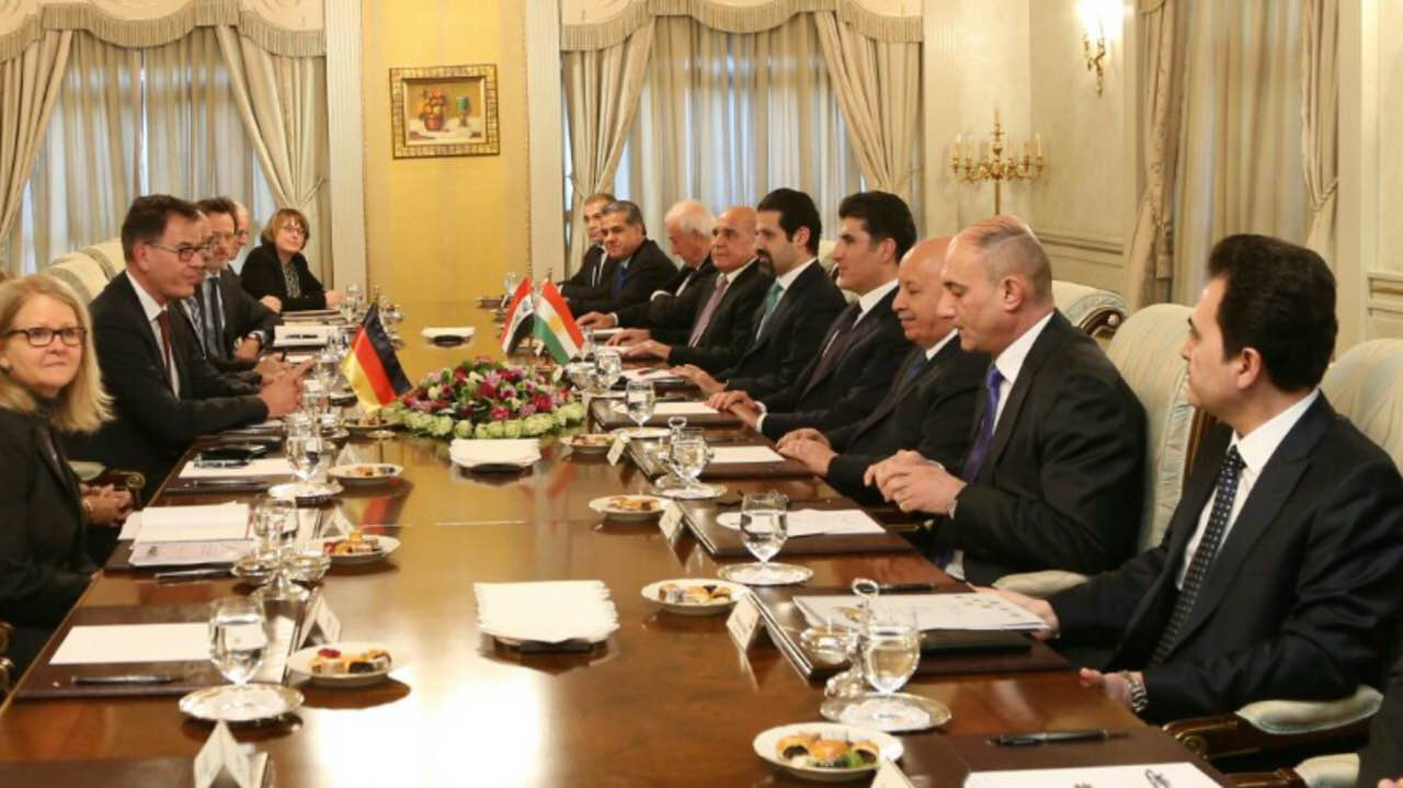 Germany reaffirms support to the Kurdistan Region