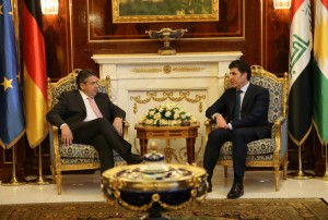 (English) Prime Minister Barzani and German Foreign Minister discuss bilateral relations