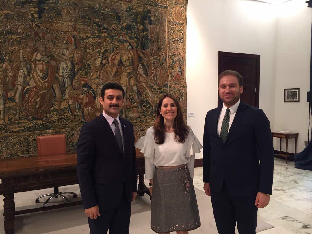 (English) (Español) El alcalde de Halabja Ali Osman y Daban Shadala visitan Guernica con motivo de conmemoración del 80 aniversario del bombardeo