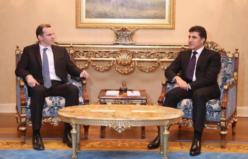Prime Minister Barzani meets US Special Presidential Envoy