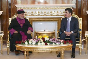 Prime Minister Barzani meets Patriarch of Assyrian Church of the East